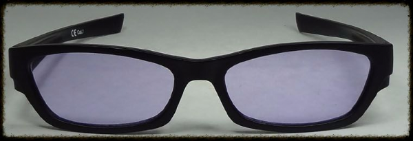 Purple  glasses  suitable for age 10 upwards